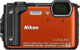 Nikon COOLPIX W300, Orange Silicon Jacket, Orange (851071) (Australian Warranty)