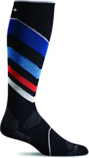 Sockwell Men's Ski Ultra-Light Compression Socks