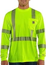 Carhartt Men's High Visibility Force Long Sleeve Class 3 Tee