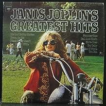 JANIS JOPLIN GREATEST HITS vinyl record