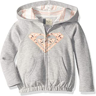 ROXY Girls' Lazy Love Zip-up Sweatshirt