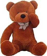 WOWMAX 6 Foot Dark Brown Giant Life Size Teddy Bear Cuddly Stuffed Plush Animals Teddy Bear Toy Doll 71