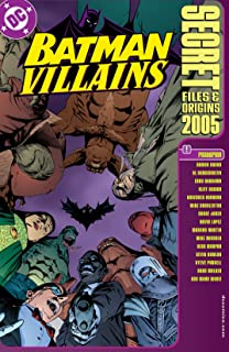 Batman Villains: Secret Files (1998) #1 (DC Secret Files) (English Edition)