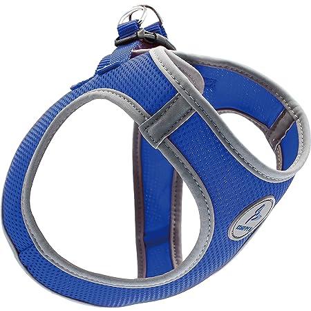 Kruz PET KZA306 Reflective Mesh Dog Harness, No Pull, Quick Fit, Comfortable, Adjustable Pet Vest Harnesses for Walking, Training, Small, Medium Dogs