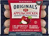 Dietz & Watson Originals No Antibiotics Ever Apple & Chicken Smoked Chicken Sausage, 10 oz