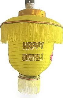 Chinese Japanese Style pop up Lantern Diwali Kandil Yellow, Buy1 Get1 Free. Free Two Day Shipping