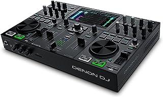 Denon DJ PRIME GO - Draagbare DJ-set/Smart DJ-console met 2 decks, wifi-streaming, 7-inch HD-touchscreen en oplaadbare bat...