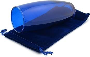 Mezuzah Master Chuppah Glass for Breaking at Wedding (Blue)
