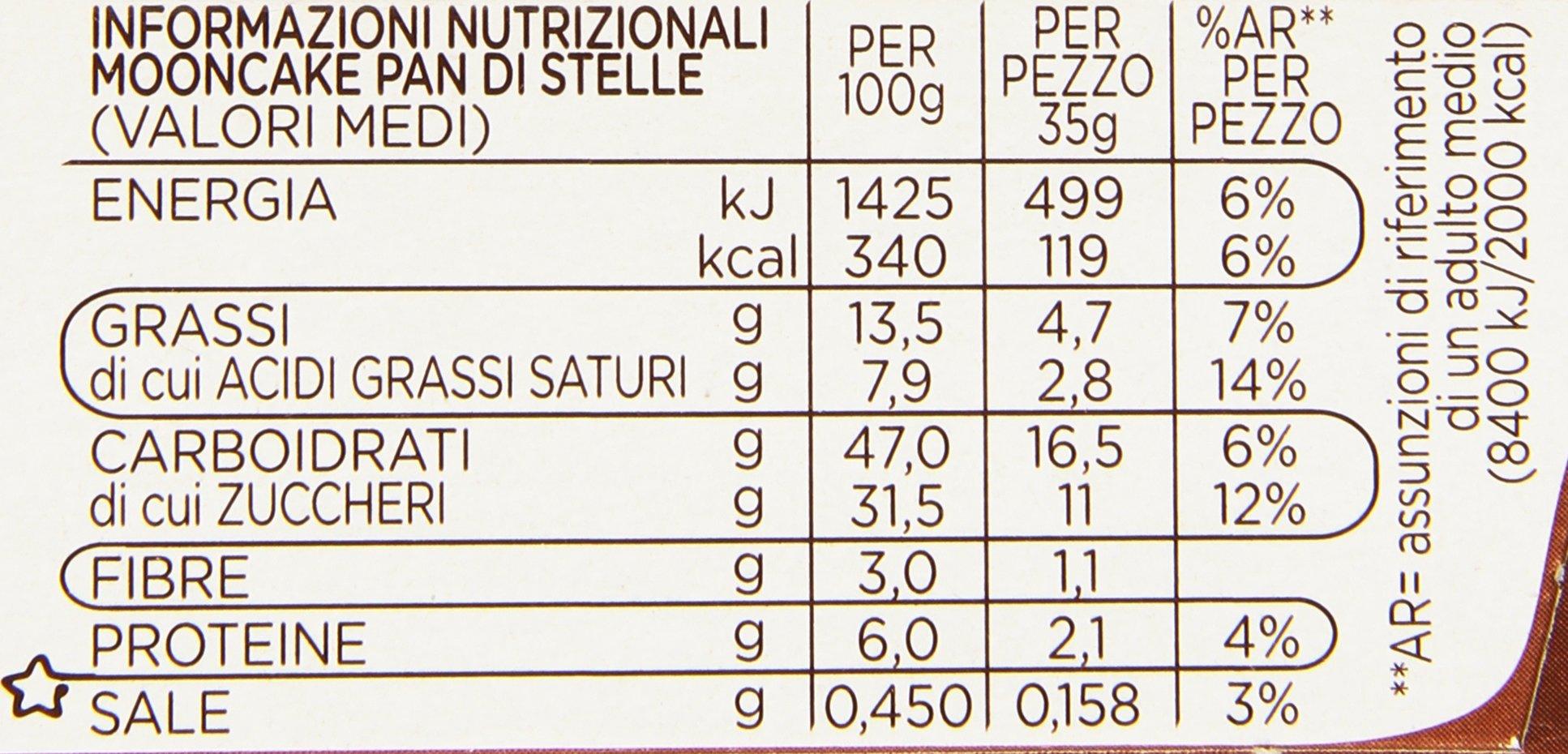 Mulino Bianco Pan Di Stelle Mooncake 6x35g Buy Online In India At Desertcart 68203696