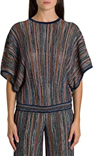 M Missoni Luxury Fashion Womens 2DN001502K003JLM00R Multicolor T-Shirt | Fall Winter 19
