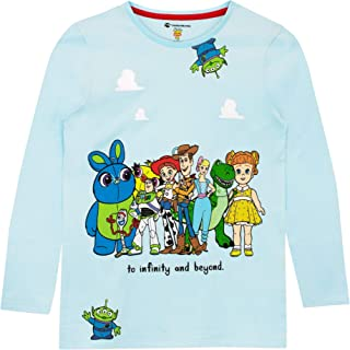 Disney Camiseta de Manga Larga para niñas Toy Story