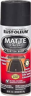 Rust-Oleum 263422 Automotive Enamel, Matte Black