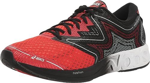 Asics Homme T722N.2301 Running chaussures, 12 au Royaume-Uni Vermilion Blanc   Noir 12 Royaume-Uni