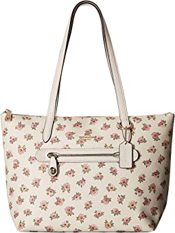Flower Patchwork Pvc Taylor Tote