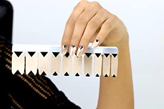 REPUBLIC OF SKIN ® LONDON – Premium Imported Nail Polish Art Stickers – Bronze Age | 20 Pieces | High-Quality, Waterproof | Self-Adhesive– Easy, Quick & Convenient Simple Application| Lasts 2 weeks| Spectacular Colours and Designs| Safe |