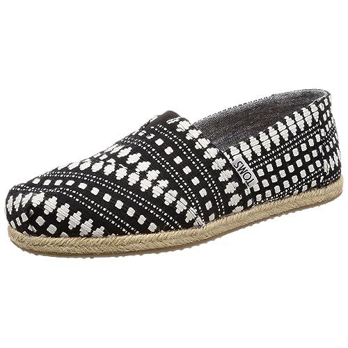 70ed7bf9296aa Women's Black and White Slip Ons: Amazon.com