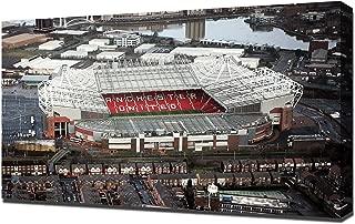 Old Trafford Man Utd 3 - Canvas Art Print
