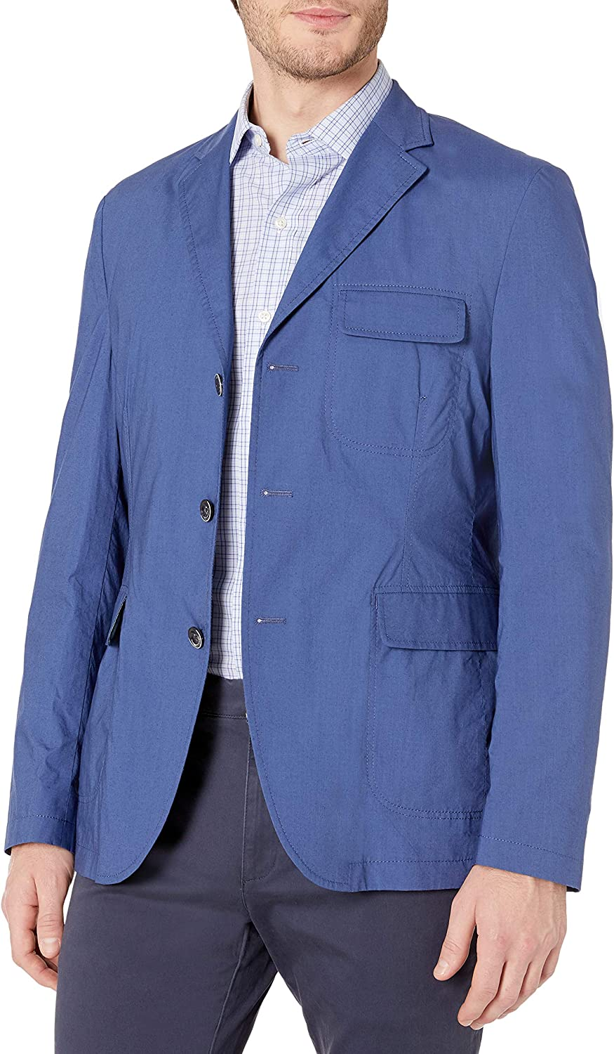 Kroon Men's King Cotton with Stretch Technical Italian Fabric