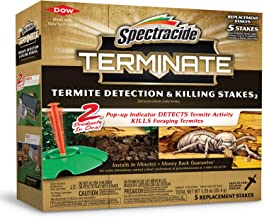 Spectracide Terminate Termite Detection & Killing Stakes, 5 ct
