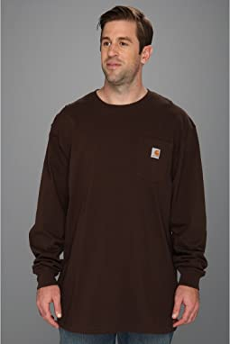 Carhartt Big & Tall Workwear Pocket L/S Tee