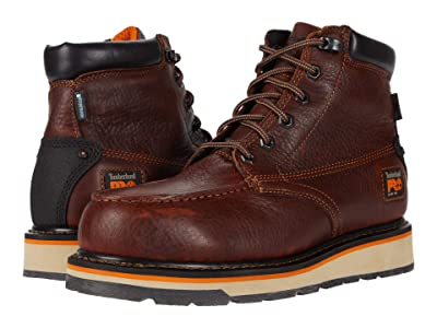 Timberland PRO Gridworks 6 Alloy Safety Toe Waterproof (Brown) Men
