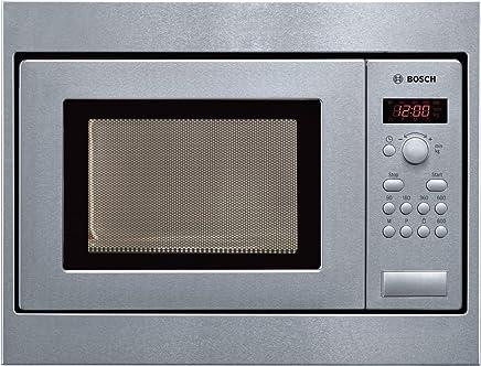 Edelstahl Mikrowelle/ /Mikrowelle integriert, Mikrowelle Grill, 20/L, 800/W, drehbar, Oberfl/äche, Schwarz, Edelstahl Bosch Serie 6/bel524ms0/integrierter Mikrowelle Grill 20L 800/W schwarz