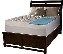 Simmons Beautyrest Comforpedic Loft from Beautyrest 2-inch Supreme Gel Memory Foam and 1.5-inch Fiber Mattress Topper King