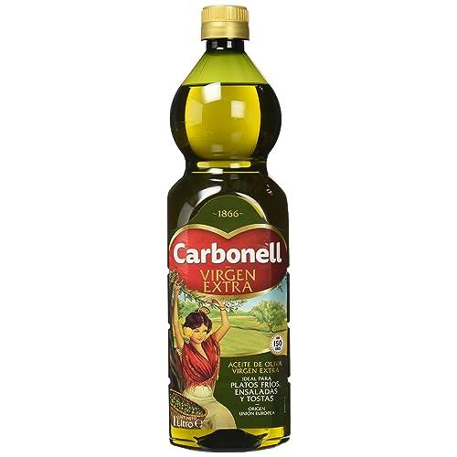 Carbonell, Aceite de Oliva Virgen Extra, pack de 3 x 1L (Total 3L