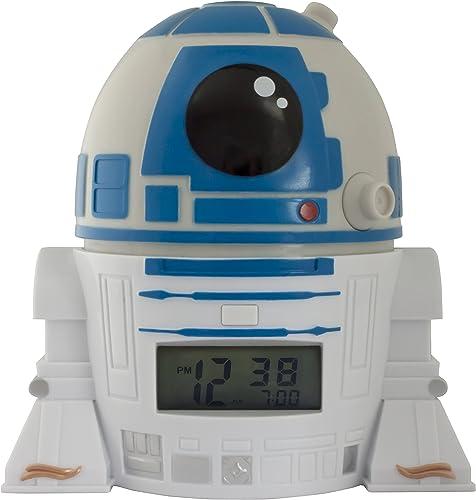 Réveil veilleuse R2D2 Star Wars BulbBotz 2021401 avec son caractéristique pour enfant