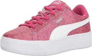 PUMA Kids Vikky Platform Glitz Ac Ps Sneaker,