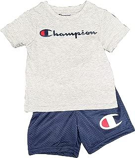 Boy's 2 Piece Set Short Sleeve Shirt & Shorts