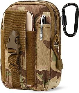 DOUN Outdoor Tactical Waist Bag EDC Molle Belt Waist Pouch Security Purse Phone Carrying Case for iPhone 8 plus Galaxy Not...