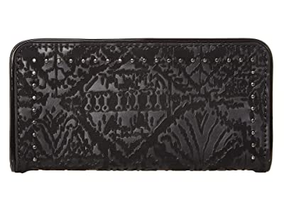 Sakroots Arcadia Slim Wallet (Black) Wallet