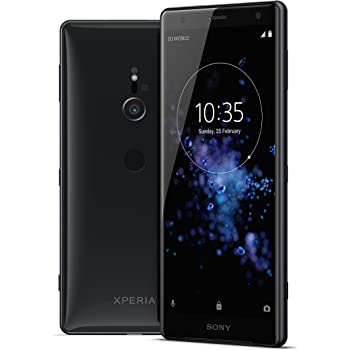 "Sony Xperia XZ2 Unlocked Smarphone - Dual SIM - 5.7"" Screen - 64GB - Liquid Black (US Warranty)"