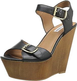 6251738e905 Amazon.com  Steve Madden Women s Wedge   Platform Sandals