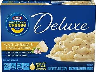 Kraft Deluxe White Cheddar Garlic Herb Macaroni & Cheese Dinner (11.9 oz Box)
