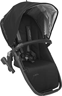 2018 UPPAbaby Vista RumbleSeat-Jake (Black/Carbon/Black Leather)