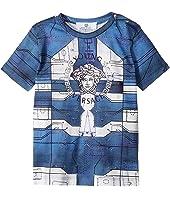 Versace Kids - Short Sleeve Medusa Logo Graphic T-Shirt (Infant)