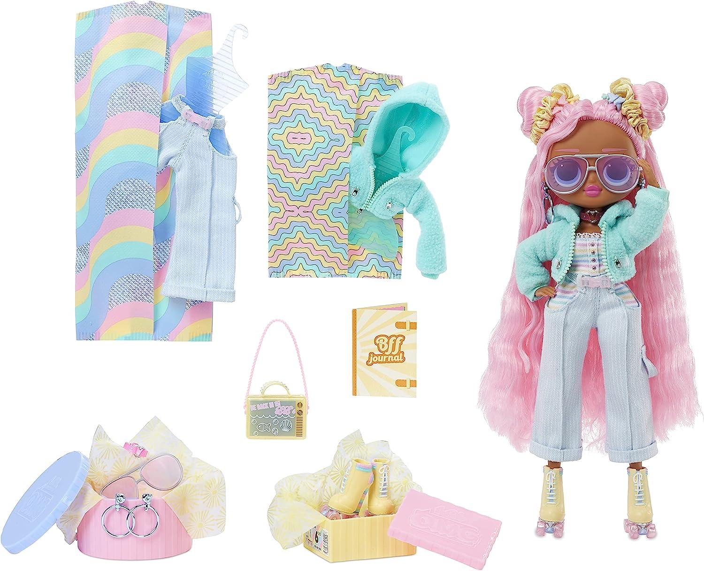 LOL Surprise OMG Sunshine Gurl Fashion Doll - Dress Up Set with 20...