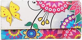 ShopMantra Multicolored Canvas Women's & Girl's Wallet (LW00000227)