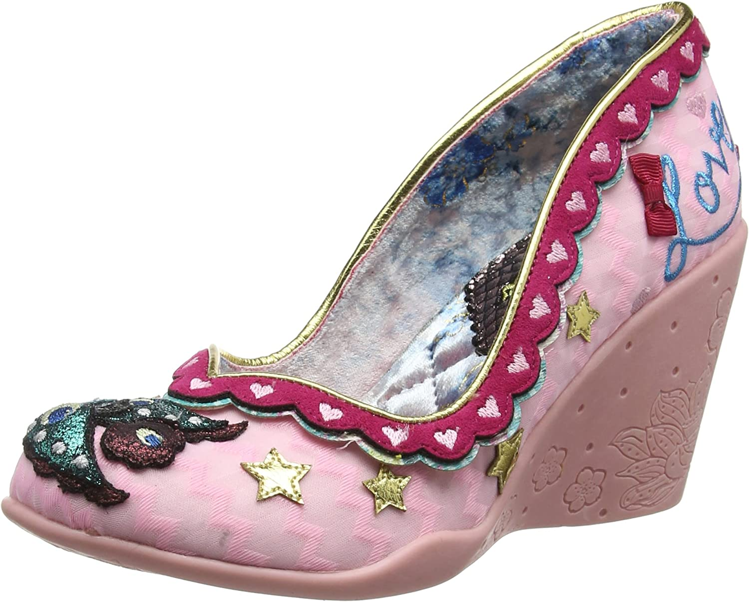 Irregular Choice Damen Love Nest Pumps  | Niedriger Preis