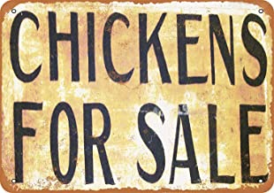 Mariner Chickens Sale Vintage Quality Aluminum Funny Aluminum Funny Art Decor Movie Poster Vintage Tin Sign Dorm Game Room 12 X 8 in