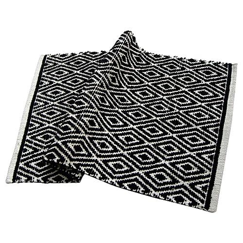 Black And White Accent Rug Amazon Com