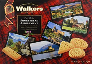 Walkers Shortbread Assorted Shortbread Cookies, Traditional Pure Butter Shortbread Cookies, 35.3 Ounce (Pack of 1)