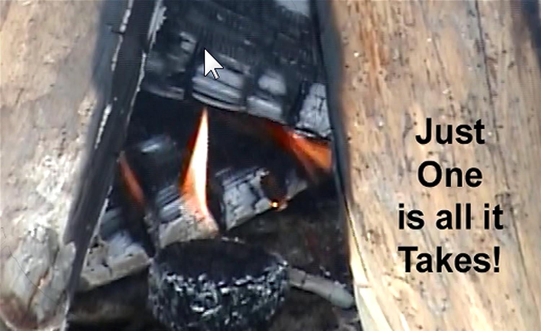 Tan Lightning Nuggets N100SEB Super Economy Box Fire Starter 100 Count