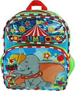 "Dumbo 12"" Toddler Size Backpack - Flying Elephant - A19566"