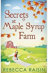 Secrets At Maple Syrup Farm Kindle Edition