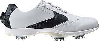 FTJ96104-7 Medium emBODY Womens Golf Shoes, White & Black - 7 Medium