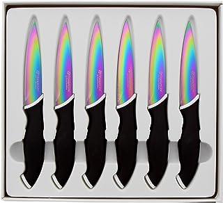 Pradel Excellence - CTI006 - Coffret 6 Couteaux Steak Revêtement Titane