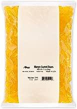 Albanese Candy Mango Gummi Bears, 5 Pound Bag, Mango-Flavored Soft Chewy Gummy Bears, Single-Flavor Gummies in Bulk Package, Gluten Free Dairy Free Fat Free